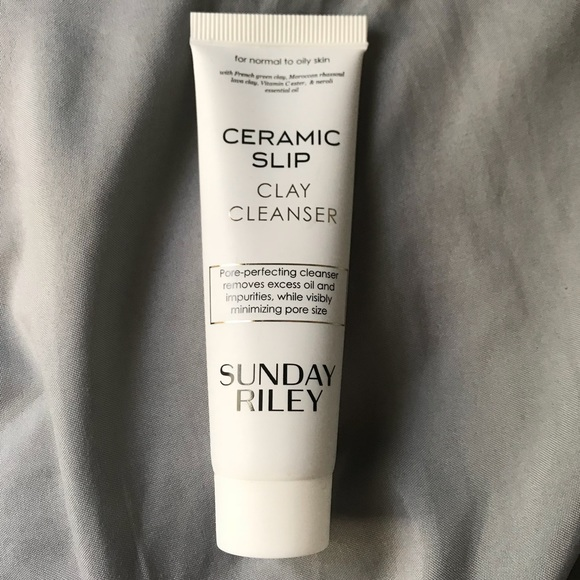 NEW Sunday Riley Ceramic Slip Clay Cleanser Trial